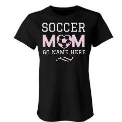 Custom Name Soccer Mom