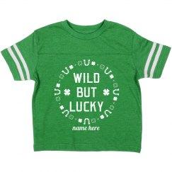 Wild But Lucky Custom Toddler
