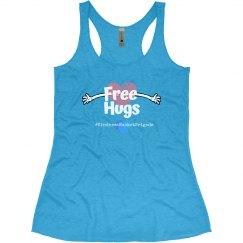 KBB Free Hugs Slim fit Tank