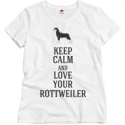 Love your Rottweiler