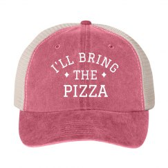 I'll Bring the Pizza Bachelorette Hat