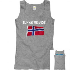 Norway or Bust Tank