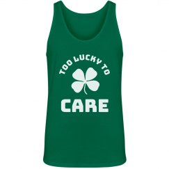 Too Lucky Shamrock Tank