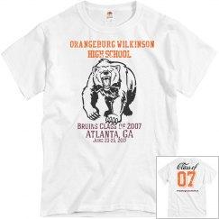 White 2007 Shirt
