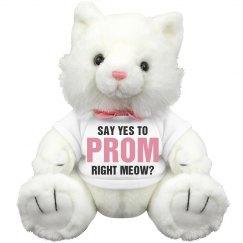 Funny Promposal Cat Pun Gift