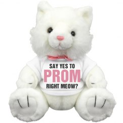 Funny Promposal Cat Pun Gift