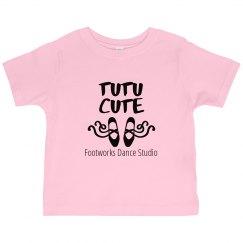 Toddler - Tutu Cute T-Shirt