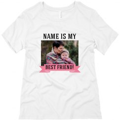 Mommy Daughter Photo Custom Tee