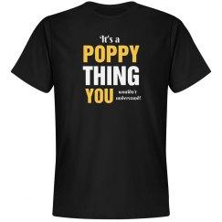 It's a Poppy thing