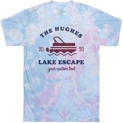 Tie-Dye Family Lake Tee