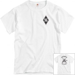 small diamond nation white T