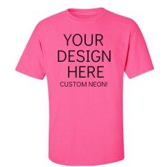 Custom Pink Neon Tee