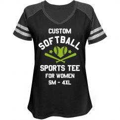 Custom Softball Sports Tee
