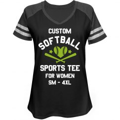 Custom Softball Sports Tee