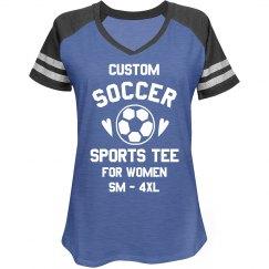 Custom Soccer Sports Tee