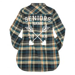 Custom Seniors Fall Flannel