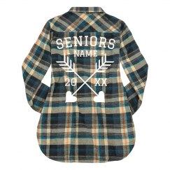 Custom Seniors Fall Flannel