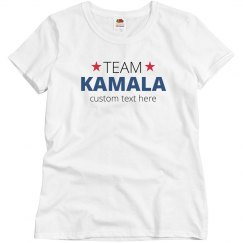 Custom Team Kamala Star Top
