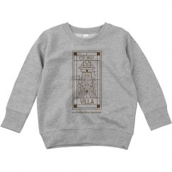 Toddler Villa Line Logo Sweatshirt