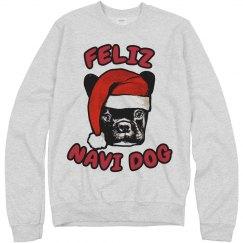 Feliz Navi Dog Ugly Xmas