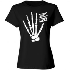 Skeleton High Five