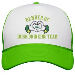 Irish Drinking Team Glove Hands