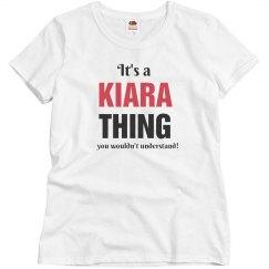 It's a Kiara thing