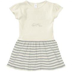 Toddler Villa Girl Ruffle Collar tee
