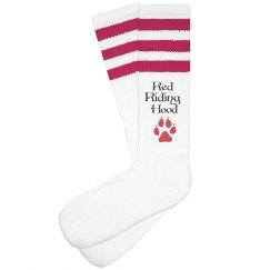 Red Riding Hood Knee High Socks