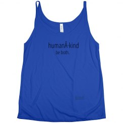 Human·Kind ladies flowy tank