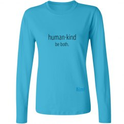 Human·Kind ladies long sleeve tee