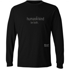 Human·Kind unisex/mens long sleeve tee