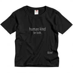 Human·Kind youth tee