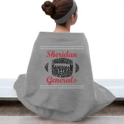 Generals Football Blanket #7