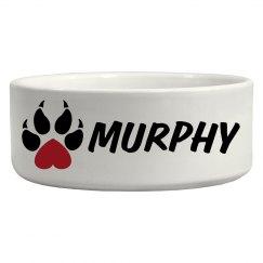 Murphy, Dog Bowl