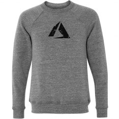Azure Logo Crewneck Sweater Grey