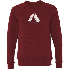 Azure Logo Crewneck Sweater Red