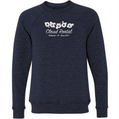 Azure Cloud Rental Crewneck Sweater Navy
