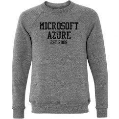Microsoft Azure Est. 2008 Crewneck Sweater Grey