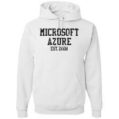 Microsoft Azure Est. 2008 Hoodie White
