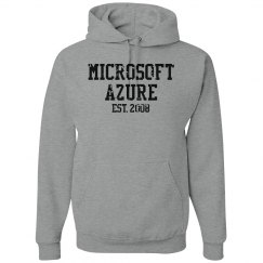 Microsoft Azure Est. 2008 Hoodie Grey