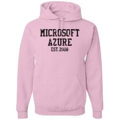 Microsoft Azure Est. 2008 Hoodie Pink