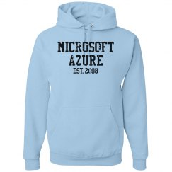 Microsoft Azure Est. 2008 Hoodie Blue