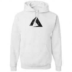 Azure Logo Hoodie White