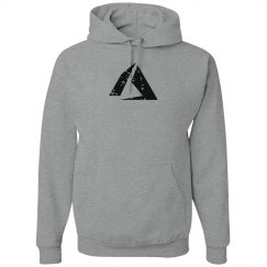Azure Logo Hoodie Grey