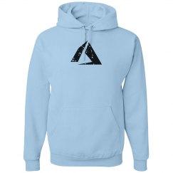 Azure Logo Hoodie Blue