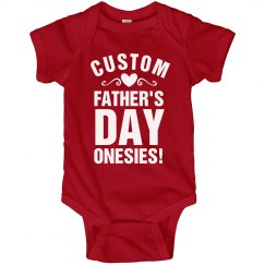 Custom Bodysuit For Dad