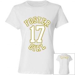 Foster Girl White Tee 3