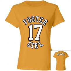 Foster Girl Gold Tee 1