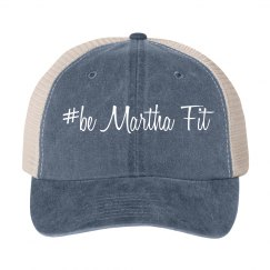basic #bMF ball cap with mesh back